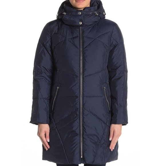 Cole Haan Down Insulated Puffer Jacket Small FLAW